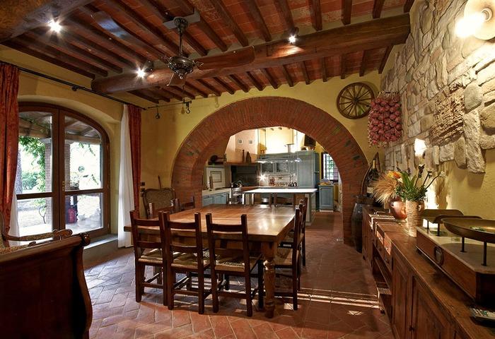 Appartamento 2 1 posti letto nel cuore della toscana con piscina podere giardino - Taverna di casa ...